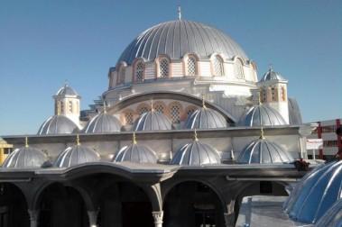 Alüminyum Cami Kubbesi