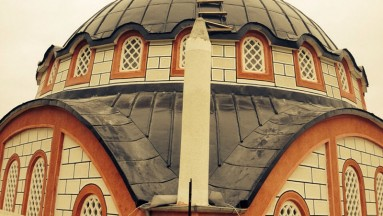 Boyalı Alüminyum Cami Kubbesi