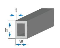 Alüminyum profil ebatları